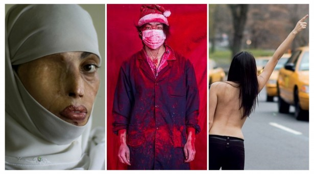 Photos (from left): Emilio Morenatti, Yang Guang, and Jordan Matter.