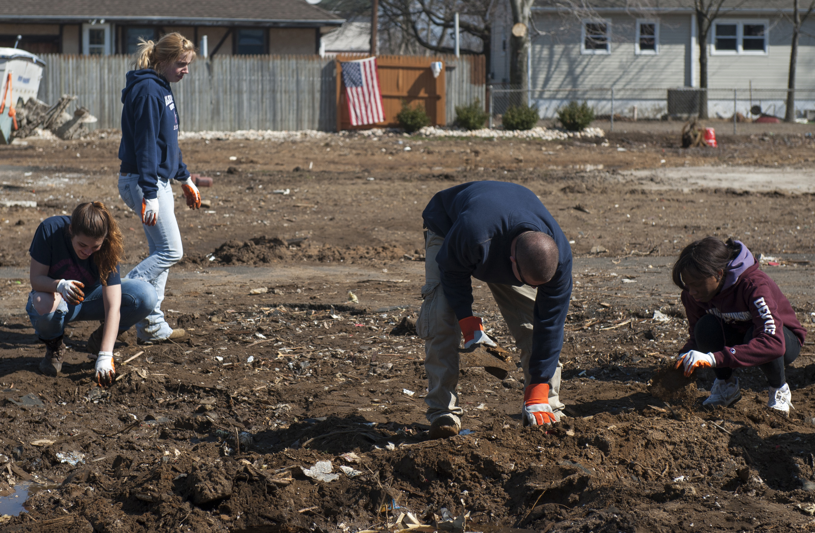 superstorm Sandy cleanup