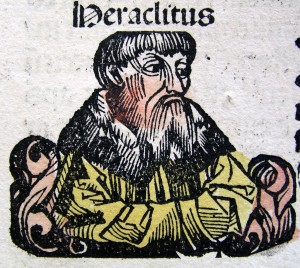 Early Greek philosopher Heraclitus Source: thegatesofdamascus.wordpress.com