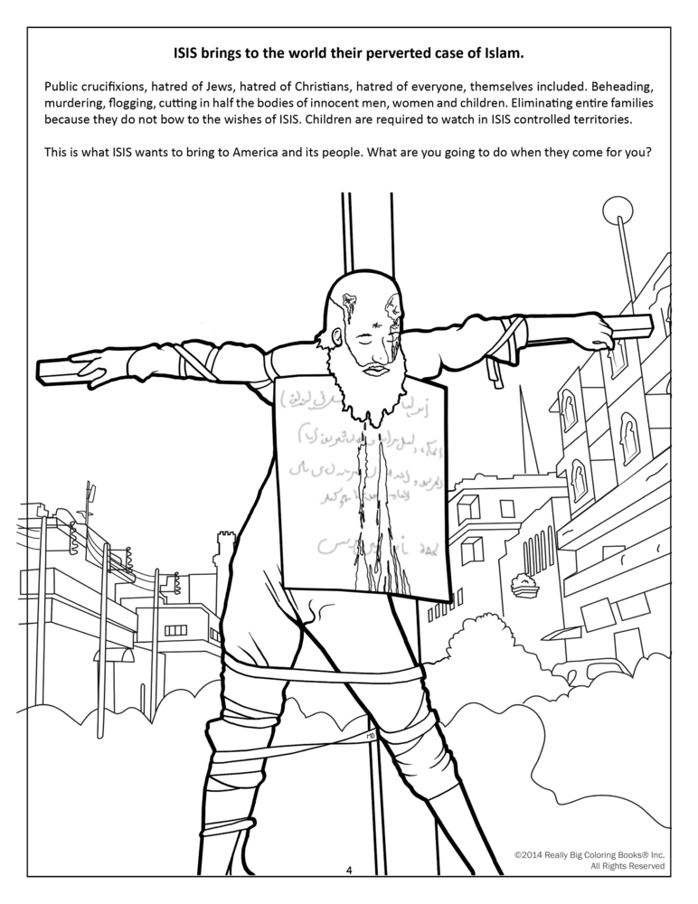 This Crazy Coloring Book Introduces Kids To Isis And Fear
