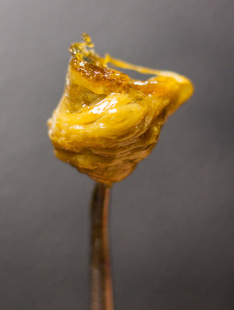 "The process of ""dabbing"" has critics and fans alike because of its potent content and methods of use (Leafly)"